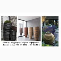 Большая напольныя ваза