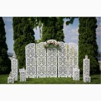 Свадебная арка, ширма, оформление свадьбы, свадебный декор, фотозона Днепр