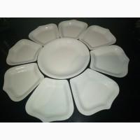 Набор тарелок праздничный посуда к Новому году