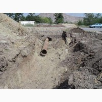 Прокладывание сетей водопровода и канализации в Херсоне. Оформление проекта