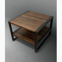 Стол журнальный в стиле Loft. Кофейный стол. Лофт мебель. Столик