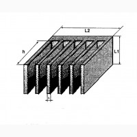 Типичный пластинчатый радиатор