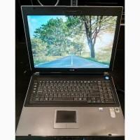 Ноутбук с большим экраном Asus A7U в хорошем состоянии