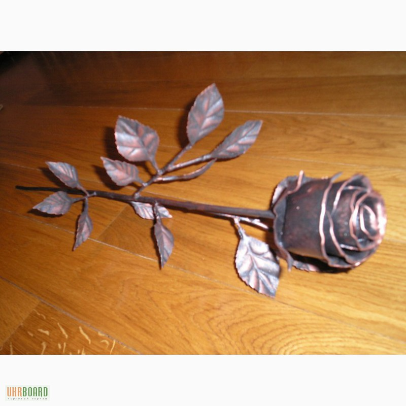 Роза из металла своими руками шаблоны