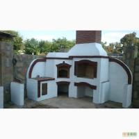 Монтаж каминов и строительство печей