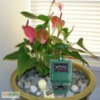 3 в 1 Измеритель кислотности, влажности, освещенности - отличный подарок растениеводу!