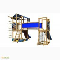 Детские игровые площадки, комплексы +из дерева SB-11