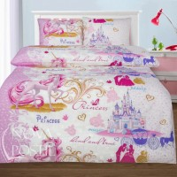 Детская постель для девочки - комплект Королевство