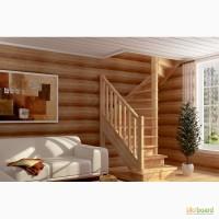 Деревянная лестница на заказ