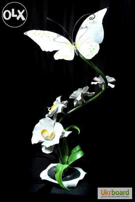Кованые орхидеи