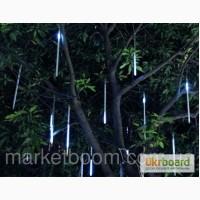 Светодиодные сосульки 10х50 см, для дома и сада