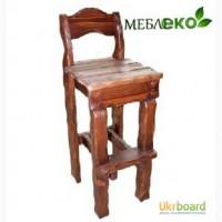 Барные стулья из массива дерева, Стул Барный Добряк