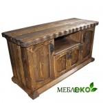 Мебель под старину из дерева, Тумба Под ТВ