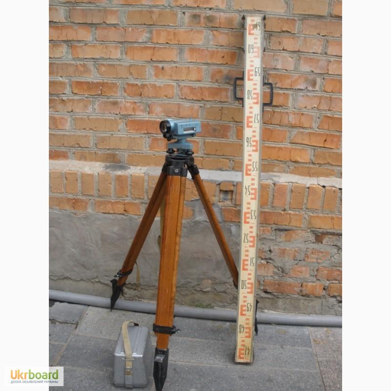 деревянный штатив для оптического нивелира фото еще сразу