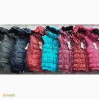 Модные жилетки для девочек и мальчиков, возраст 5-9 лет