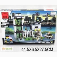 Конструктор Brick Полицейский участок, 589 дет, 129