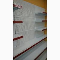 Витрина металлическая для продуктового магазина от Торгпроект