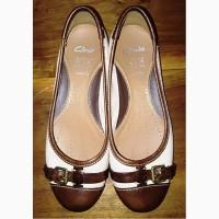 Кожаные туфли Clarks, 37р