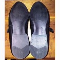 Кожаные туфли Clarks, 45р