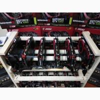 Надежная Ферма для майнинга на 6 видеокарт GEFORCE GTX 1060 GAMING X