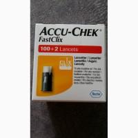 Ланцеты Акку-Чек ФастКликс 102 (Accu-Chek FastClix)