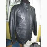 Утеплённая кожаная мужская куртка ECHT LEDER. Лот 257