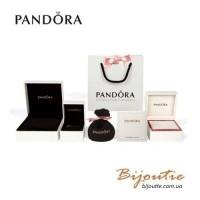 Pandora браслет жесткий кружево любви #597704CZ