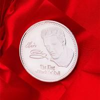 Юбилейная медаль рок-Кинг Элвиса Аарона Presley абсолютно новая в стиле ретро