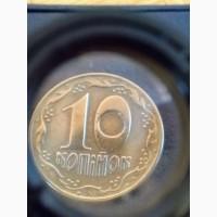 Продам монету України 10коп. #039;92#039;94#039;96рр. ціна 5грн