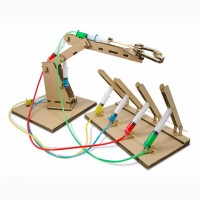 Конструктор «Гидравлик» – создание гидравлического робота-манипулятора