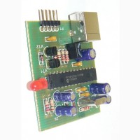 Радиоконструктор K221 Программатор PIC-контроллеров на микросхеме PIC18F2550-I/P