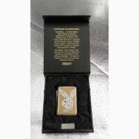 Продам Zippo Lighter Playboy Limited Edition Gold Swarovski