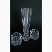 Винтажный модерн - ваза и подсвечники