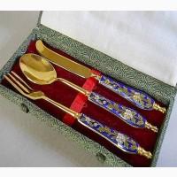 Винтажный Китайский набор клуазоне