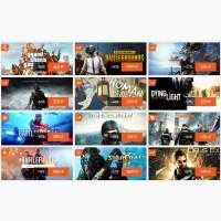 Самые лучшие и популярные компьютерные игры по смешным ценам на GloryGame