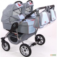 Универсальная коляска для двойни TAKO Jumper Duo We love kids