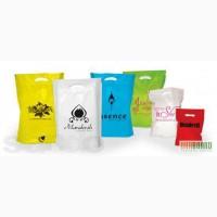 Полиэтиленовые пакеты с логотипом. Пакеты майка и банан