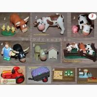 Животные на ферме - игрушки