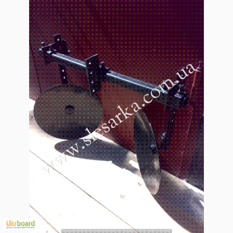 Фото 6. Дисковые окучники на подшипниках, в комплекте