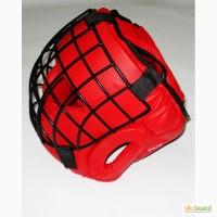 Шлем для контактных единоборств, забрало сталь, закрытый.