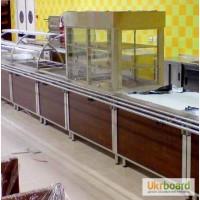 Продам холодильную витрину бу для ресторана столовой кафе