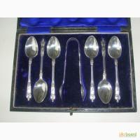 Апостольские ложки 1913 год. Серебро 925 пробы (sterling silver). Англия
