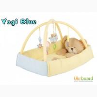 Развивающие коврики для малышей Quatro Maty Yogi Blue