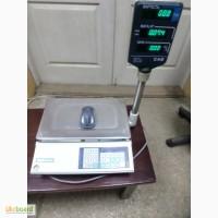 Весы торговые CAS AP -15 M, настольные электронные торговые весы