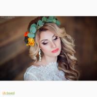 Свадебный макияж и прическа, свадебный стилист, стилист визажист Анастасия Кот