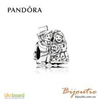 Оригинал Pandora шарм жених и невеста 791116