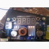 Понижающий модуль зарядки Светодиодный цифровой вольтметр