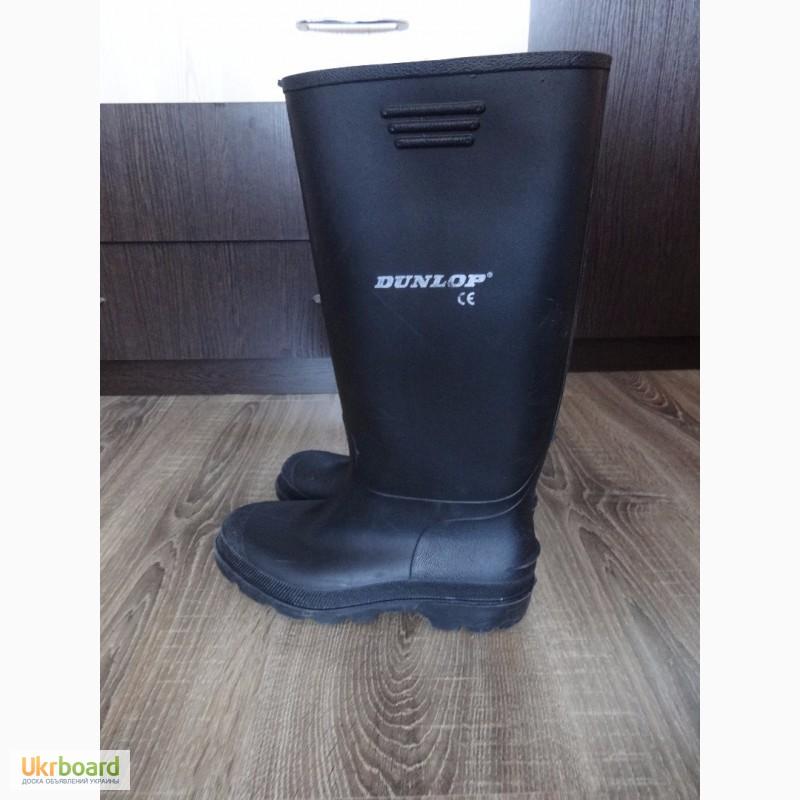 Продам фирменные резиновые сапоги сапожки Dunlop 39 размер гумові чоботи  б у Португалия 96551ddd69676