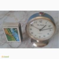 Слава ( SLAVA, 11 jewels ) часы-будильник, на ходу 100%