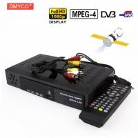 Наземное цифровое Спутниковое ТВ Приемник Combo dvb T2 + S2 HD 1080 +USB